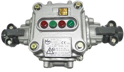 Ognioszczelna kaseta sterownicza typu OKS-_ (500V, 6A)