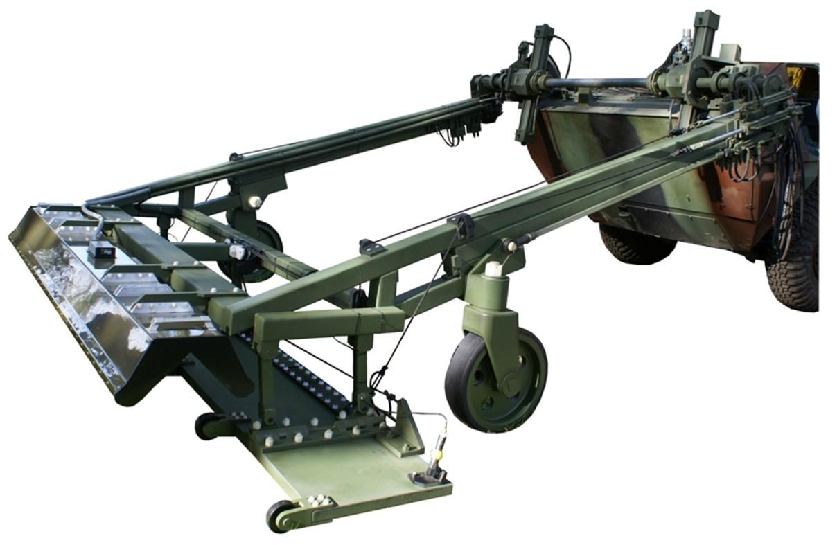 Wieloczujnikowy wykrywacz min i improwizowanych ładunków wybuchowych (IED) WWM