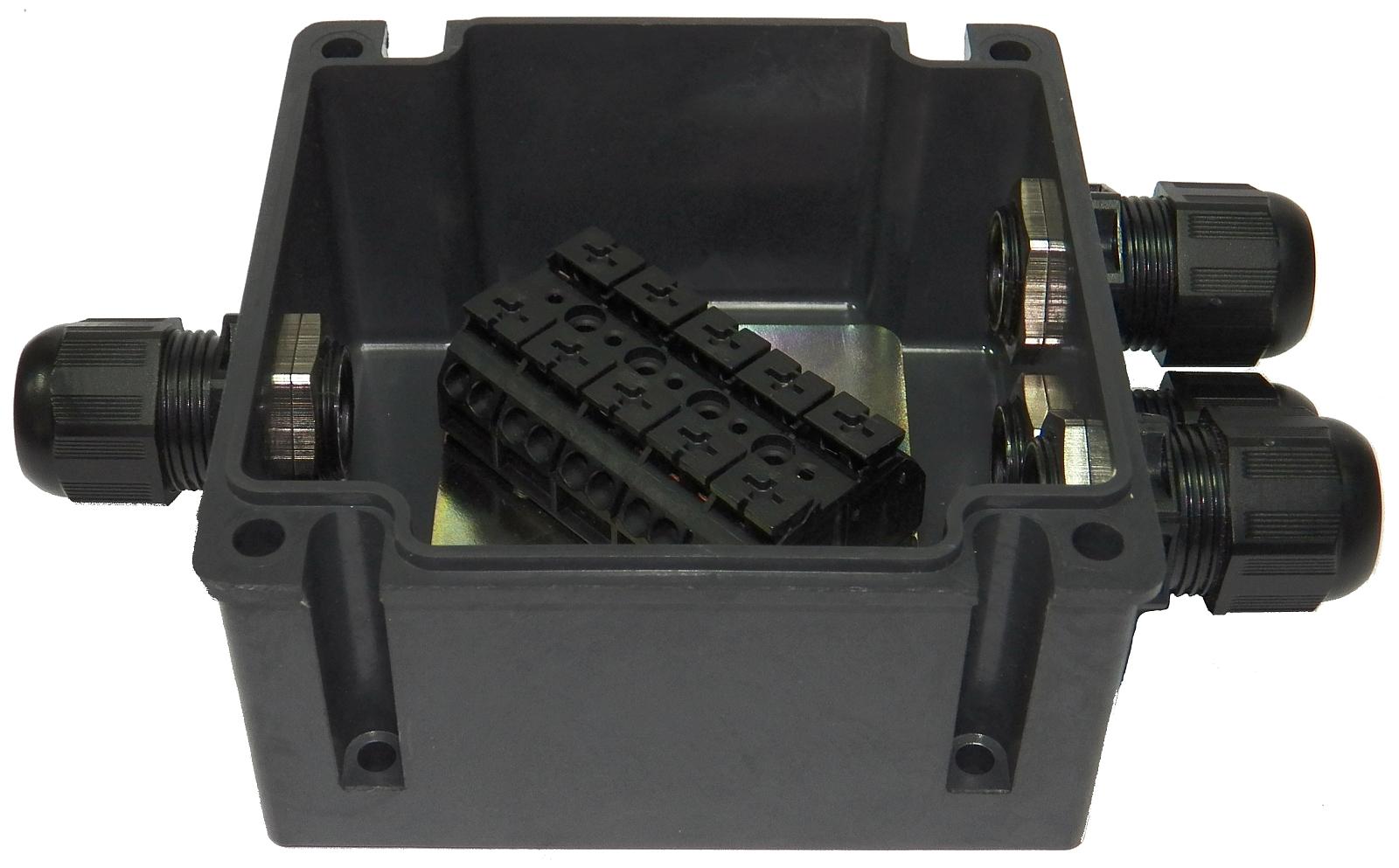 Skrzynka przeciwwybuchowa zaciskowa typu SPZ (690V, 25A lub 32A)