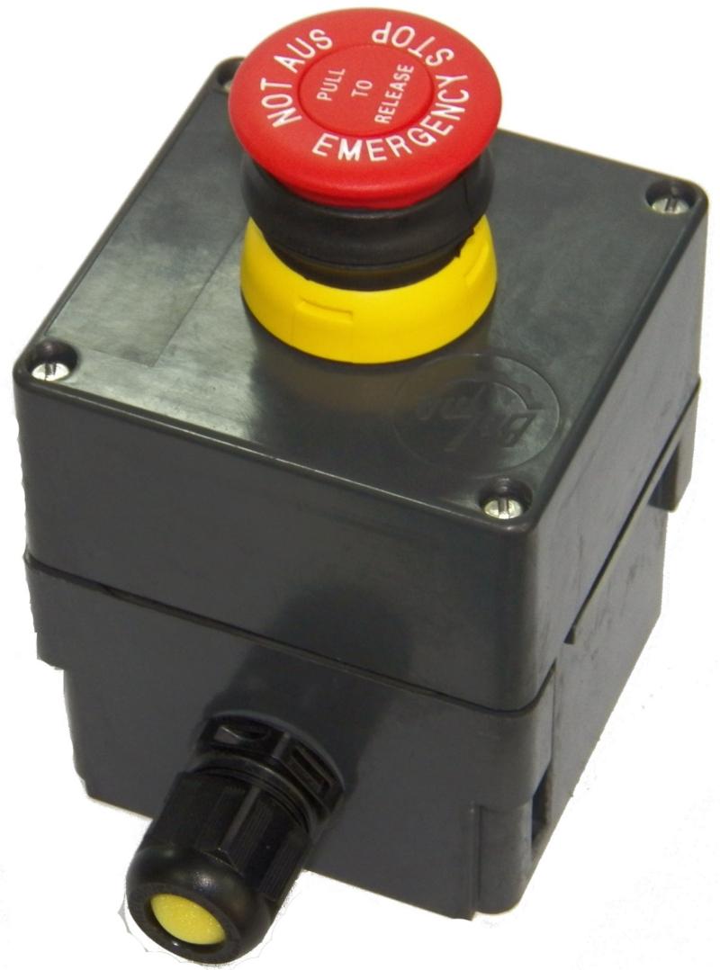 Przeciwwybuchowa kaseta sterownicza typu KS-1 (500V, 2,5A)