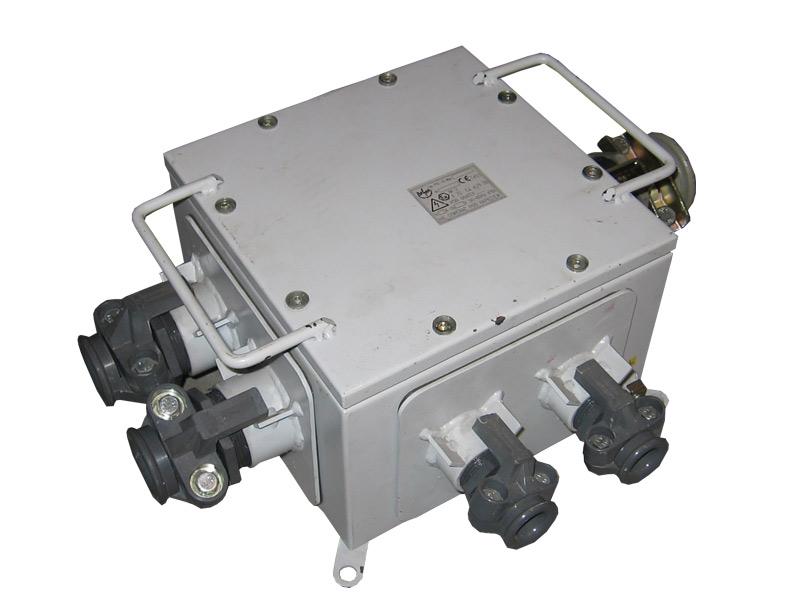 Przeciwwybuchowa skrzynka zaciskowa typu PSZ-10 (500V, 63A)