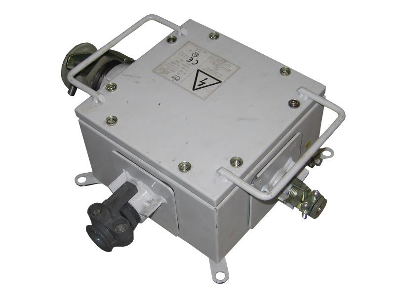 Przeciwwybuchowa skrzynka zaciskowa typu PSZP-16 (1000V, 63A)