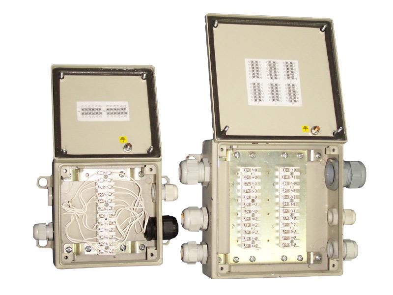 Skrzynki teletechniczne typu PSTI-12,24,36 (90V, 4A)