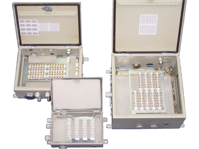 Skrzynki teletechniczne typu PSTI-48,72,120 (90V, 4A)