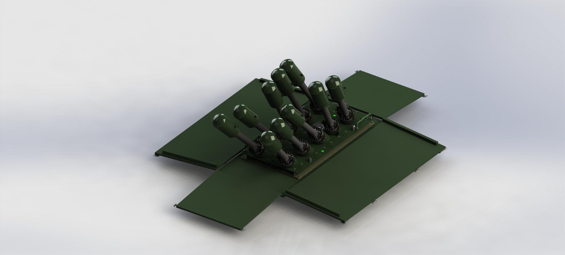 System Sterowanych Ładunków Wybuchowych SSŁW kr. Jarzębina-S